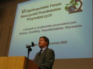Otwarcie obrad przez JM Rektora UŚ prof. zw. dr. hab. Janusza Janeczka