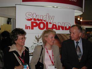 Polskie stoisko odwiedził były premier - pan Grzegorz Kołodko