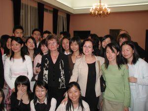 Wizyta studentów Slawistyki, Uniwersytetu Foreign Language Teaching University w Ambasadzie Polskiej w Pekinie