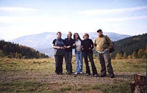 Młodzi klasycy na Łysej Przełęczy