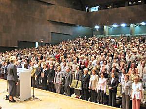 Inauguracja nowego roku akademickiego 2005/2006 w UTW