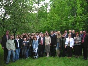 Delegacja młodzieży z St-Etienne w DMSEK w czerwcu 2005 roku
