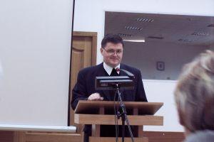 Ks. prof. Józef Budniak, przewodniczący komisji ds. stosunków polsko-czeskich i polsko-słowackich