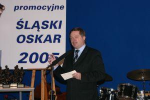 Przewodniczący Kapituły 'Śląskiego Oskara' prof. dr hab. Janusz Janeczek