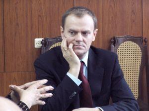 Donald Tusk w Cieszynie