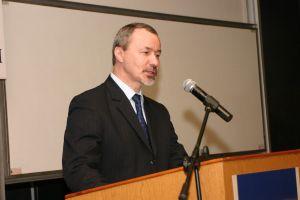 Spotkanie prowadził Prorektor ds. Nauki i Informatyzacji prof. dr hab. Wiesław Banyś