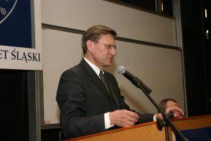 Prezes NBP prof. dr hab. Leszek Balcerowicz