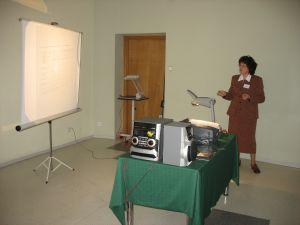 Dr hab. Wiesława A. Sacher, opiekun naukowy konferencji
