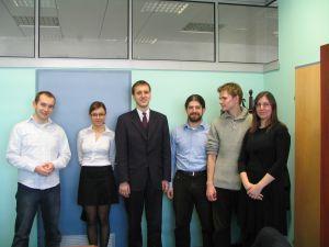 Studenci Wydziału Prawa i Administracji UŚ uczestniczący w projekcie STEP