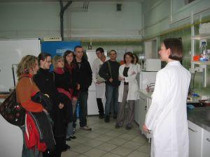 Zwiedzanie Katedry Genetyki Wydziału Biologii i Ochrony Środowiska