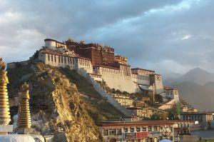 Pałac Potala w stolicy Tybetu - Lhasie