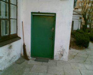 Za tymi drzwiami mieszkał ks. Jan Twardowski