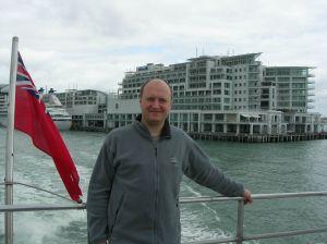 Autor w Auckland