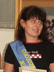 Marina Kiwola z Kaliningradu (Rosja) - Cudzoziemski Mistrz Języka Polskiego 2006