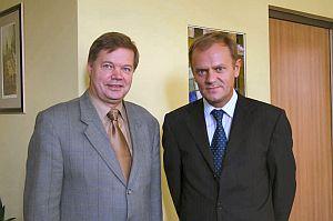 spotkanie z Donaldem Tuskiem