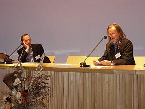 Ks. prof. dr. hab. Tomasz Węcławski i prof. zw. dr hab. Tadeusz Sławek
