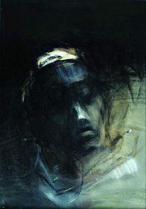 Jagoda Adamus, Sen, olej na papierze, 1997