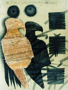 Józef Hołard, Według Umberto Eco, kolaż, 2004