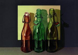Witold Warzywoda, Trzy Gracje, litografia barwna, 2002