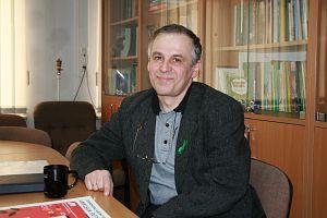 Dr Mirosław Nakonieczny pełniący obowiązki Dyrektora Centrum Studiów nad Człowiekiem i Środowiskiem