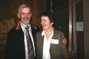 Dr Kazimierz Sendobry i dr Wiesława Ewa Krawczyk