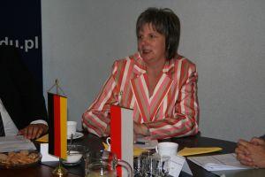 Przewodnicząca Landtagu PNW Regina van Dinther