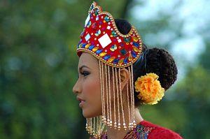 Członkini zespołu folklorystycznego Persatuan Mahasiswa Aktif Seni