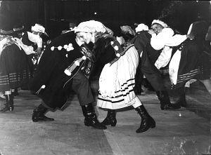 Pierwsza edycja Międzynarodowego Festiwalu Studenckich Zespołów Folklorystycznych w 1979 roku