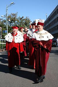 40.inauguracja roku akademickiego 2007/2008 w UŚ