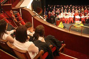 Uroczysta inauguracja roku akademickiego 2007/2008 w Teatrze im. Stanisława Wyspiańskiego w Katowicach
