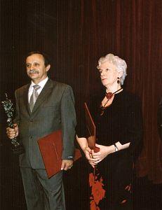 Prof. Bożena Tokarz i prof. Emil Tokarz