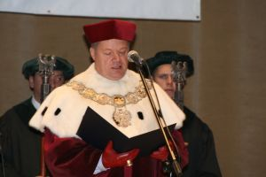 JM Rektor UŚ prof. zw. dr hab. Janusz Janeczek
