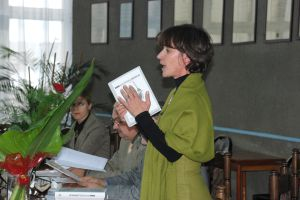 Gości przywitała dr Magdalena Pastuch, adiunkt w Zakładzie Leksykologii i Semantyki