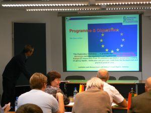 Otwarcie konferencji oraz prezentacja celów ESF przez prof. J. Ll. Tamarit'a