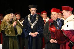 prof. Jerzy Stuhr doktorem honoris causa UŚ