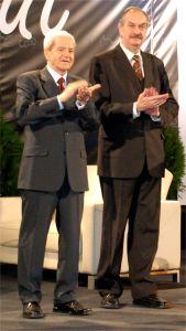Prof. Edward Polański i prof. Andrzej Markowski
