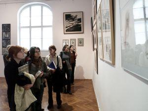 Wernisaż w Galerii Uniwersyteckiej w Cieszynie