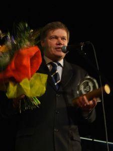 JM Rektor UŚ prof. zw. dr hab. Janusz Janeczek - laureat Nagrody Honorowej