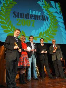 Laureaci 'Laurów Studenckich 2007'
