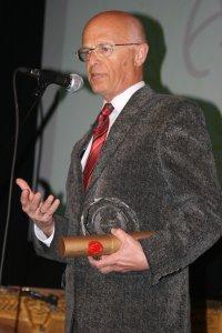 Laureat w kategorii 'Przyjaciel studenta' - prof. zw. dr hab. Adam Lityński