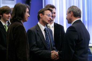 Gratulacje od studentów Uniwersytetu Śląskiego
