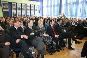 Katowicka część konferencji w auli im. K. Lepszego w rektoracie Uniwersytetu Śląskiego