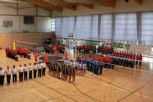 Mistrzostwa, w których wzięło udział 15 drużyn, rozgrywały się od 1 do 4 maja w obiektach AWF w Katowicach równocześnie na czterech boiskach dwóch hal