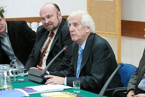 JM Rektor Uniwersytetu Śląskiego w Opawie prof. PhDr. Zdenek Jirasek i prof. Jacek Baluch