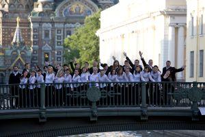 Chór Uniwersytetu Śląskiego 'Harmonia' na II World Choir Festival Grand Prix St. Petersburg Russia 2008