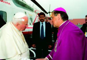 Wizyta Jana Pawła II w Sosnowcu, 14 cerwca 1999 r.