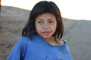 Mała Indianka Guarani (Argentyna)