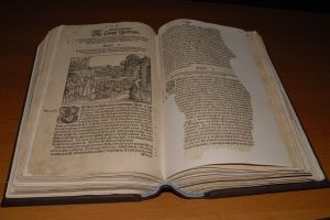 Biblia Leopolity - stan po konserwacji