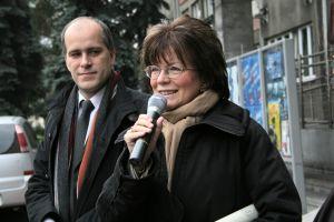 Wicewojewoda Śląski Adam Matusiewicz i prorektor UŚ ds. studenckich, promocji i współpracy z zagranicą prof. dr hab. Barbara Kożusznik