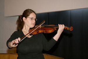 Uczennica Szkoły Muzycznej z Bielska-Białej